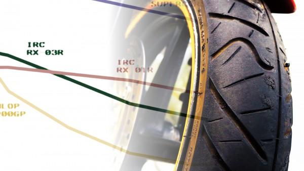 タイヤ RX01R 比較 RX03R