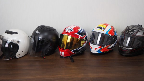 バイク ヘルメット 比較