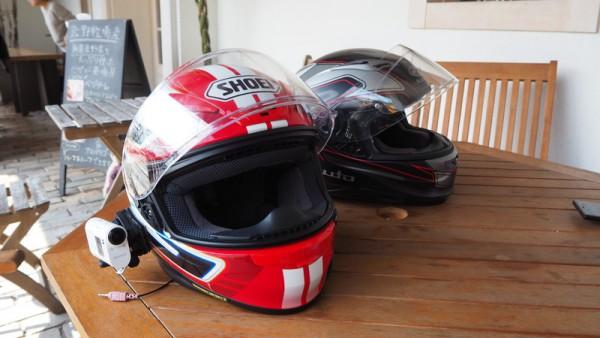 ヘルメット インカム ツーリング