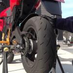 グロムのタイヤ交換【TT93GP】ハイグリップタイヤのおすすめは?バトラックスやピレリ、デューロはどうなの?