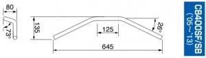 CB400 ハンドル
