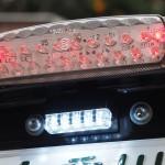 VTRに汎用キジマLEDナンバー灯(ライセンスランプ)取り付けと車検適合か否か