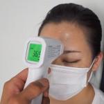 意外と精確!非接触の体温計レビュー。簡単で便利なのでおすすめ!新型コロナ対策で店頭では買えない