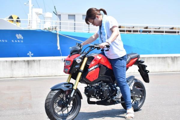 バイク MSX グロム