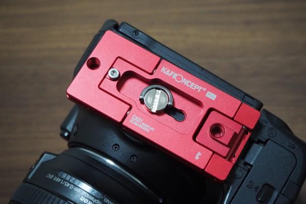K&F三脚 カメラ クイックリリースプレート