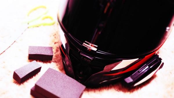 ヘルメット 内装 調整